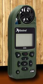 Kestrel 5500 Pocket Weather Meter
