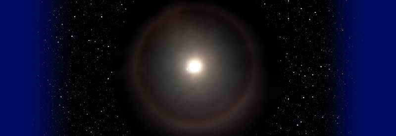 What Causes A Ring Around The Moon heading