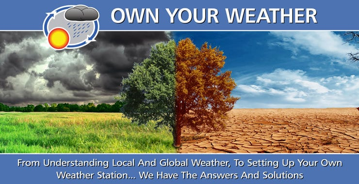 Own Your Weather Heading
