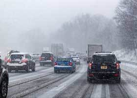 Blizzard Effects - Traffic Disruption