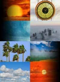 Weather Elements Collage