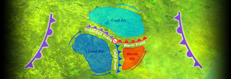 What Is An Occluded Front And What Weather Does An Occluded Front Bring