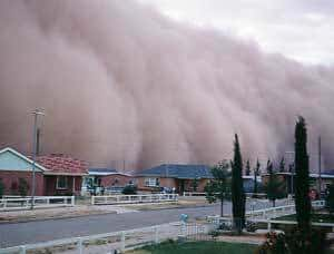 What Causes A Dust Storm