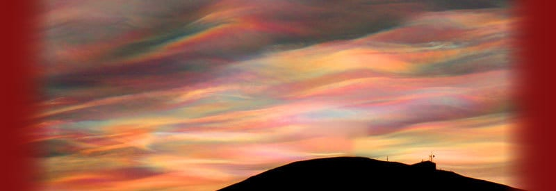 Mother Of Pearl Clouds - Explaining The Appearance Of Nacreous Clouds