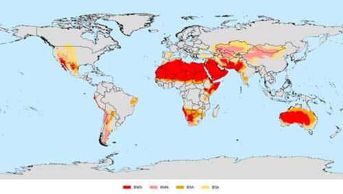 Dry Climate Zone