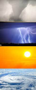 Deadly Weather Collage