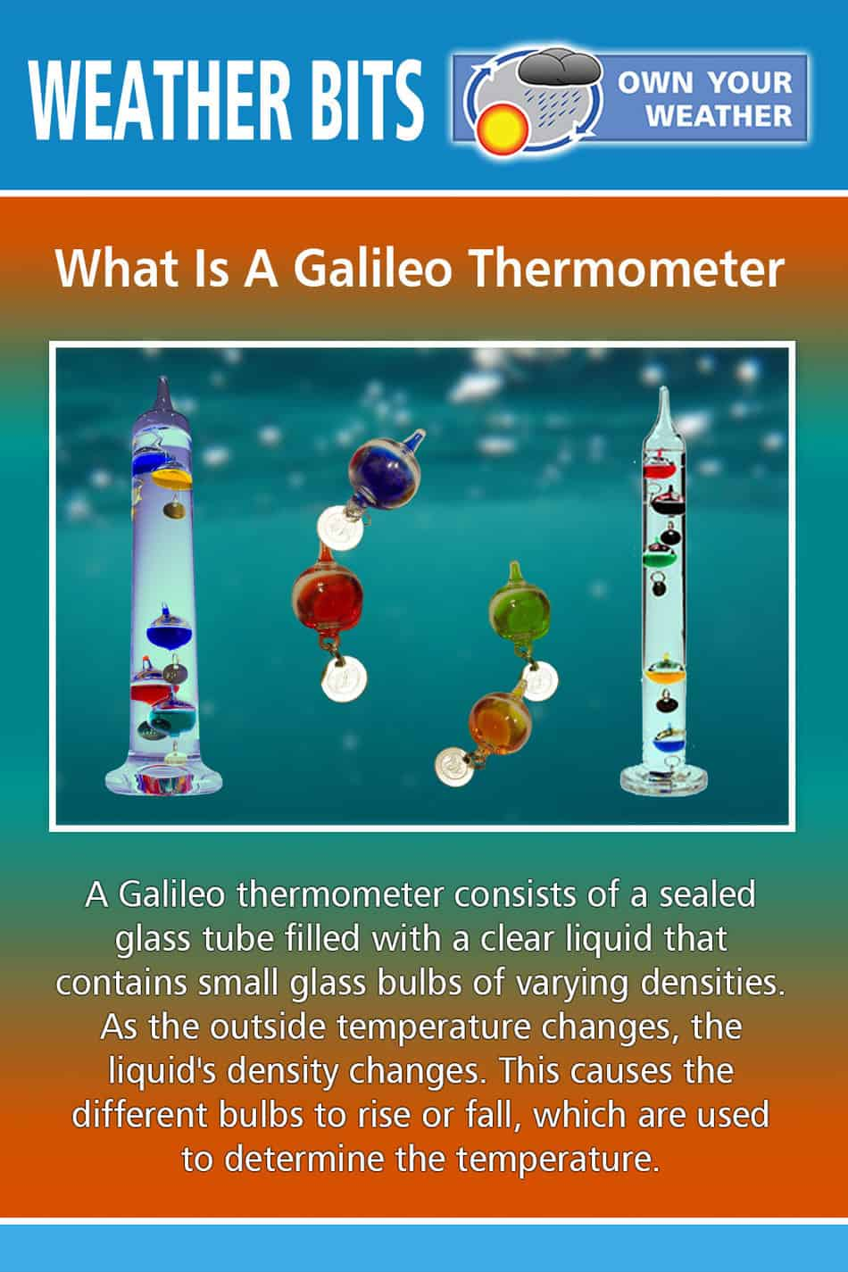 What Is A Galileo Thermometer